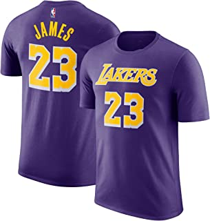NBA Youth Performance Game Time Team Color Player Name and Number Jersey T-Shirt