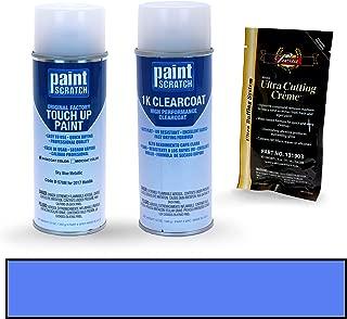 PAINTSCRATCH Sky Blue Metallic B-578M for 2017 Honda Accord - Touch Up Paint Spray Can Kit - Original Factory OEM Automotive Paint - Color Match Guaranteed