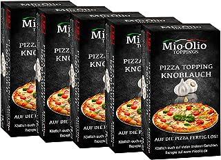MIOOLIO Pizza Topping 5x75ml Portioniert Knoblauch