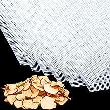 6 Pièces Feuilles de Déshydrateur Carrées en Silicone Tapis de Déshydrateur Antiadhésifs pour Fruits Alimentaires Réutilis...