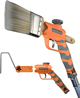Best McCauley Tools -REVOLVER- Multi Position Paint Brush and Roller Extender for threaded and locking poles. Review