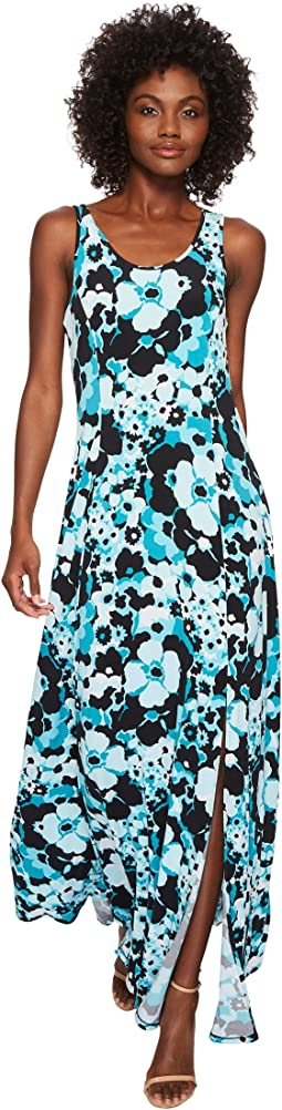 MICHAEL Michael Kors Spring Floral Maxi Tank Top Dress