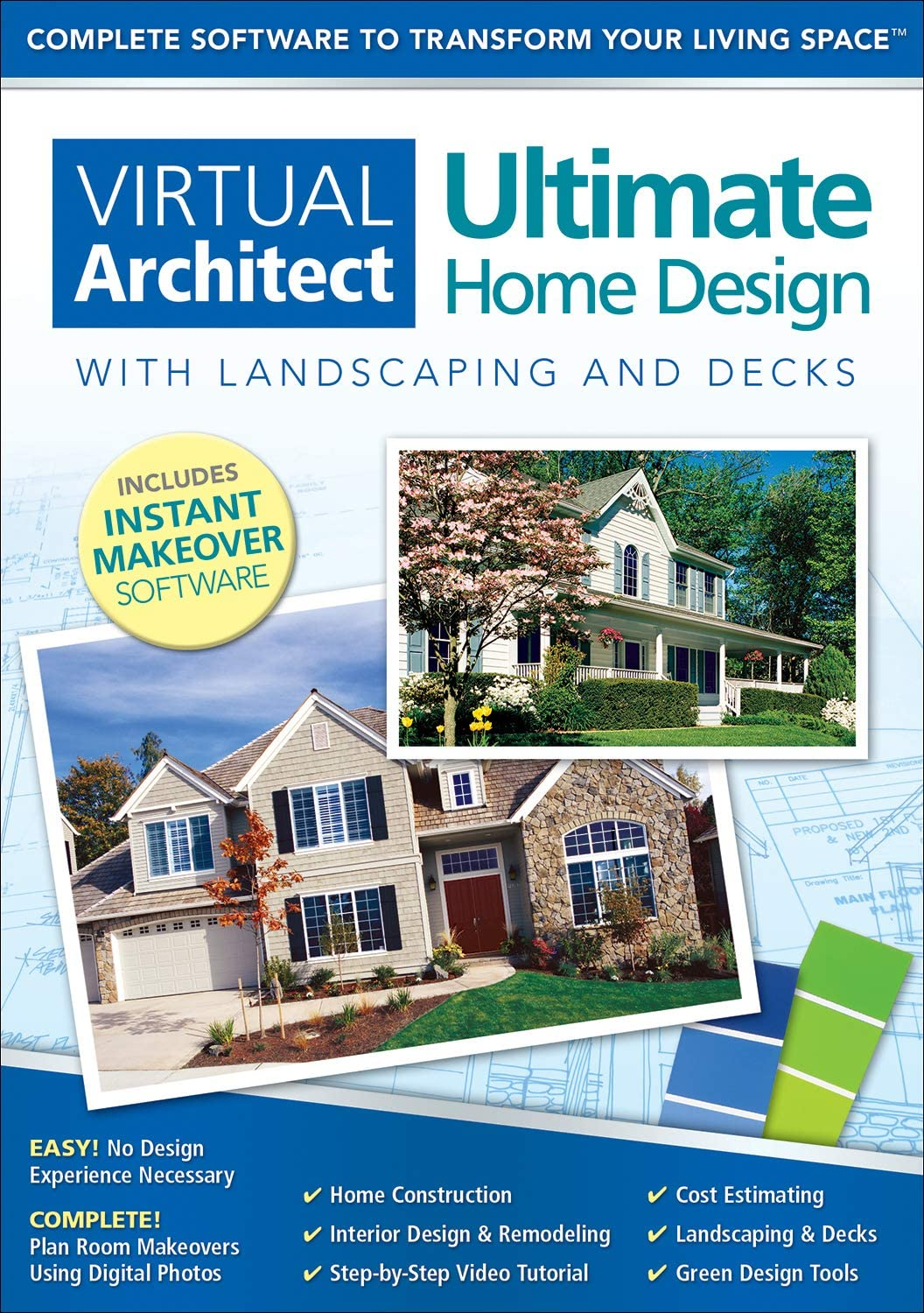 Amazon Com Virtual Architect Ultimate Home Design With Landscaping And Decks 9 0 Download Software