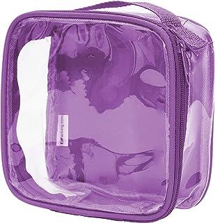 012ea7c1b8a0a3 Clear TSA Approved 3-1-1 Travel Toiletry Bag Transparent See Through  Organizer