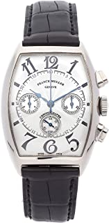 Franck Muller Curvex Mechanical (Automatic) Silver Dial Mens Watch 6850 CC at (Certified Pre-Owned)