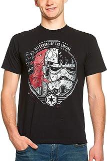 Camiseta Star Wars para Hombre Black Squadron Cotton Black - XL