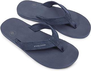 Volcom Men's DRIFTIN Suede Strap Leather Sandal FLIP Flop
