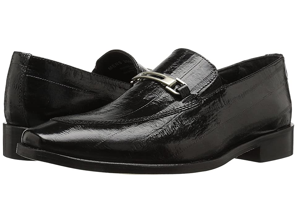 Stacy Adams Santiago Moc Toe Penny Loafer (Black) Men
