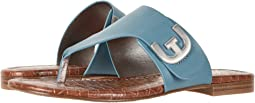 Denim Blue Vaquero Saddle Leather