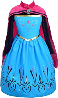 Dressy Daisy Girls Princess Elsa Coronation Dress Up Costume Halloween