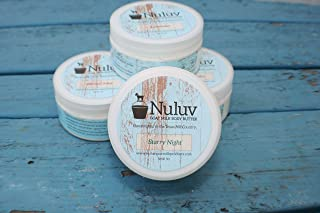 Set of 2 Nuluv Goat Milk Products 8oz. Jars Body Butter. Made in USA. Healthy Skin protects against germs.