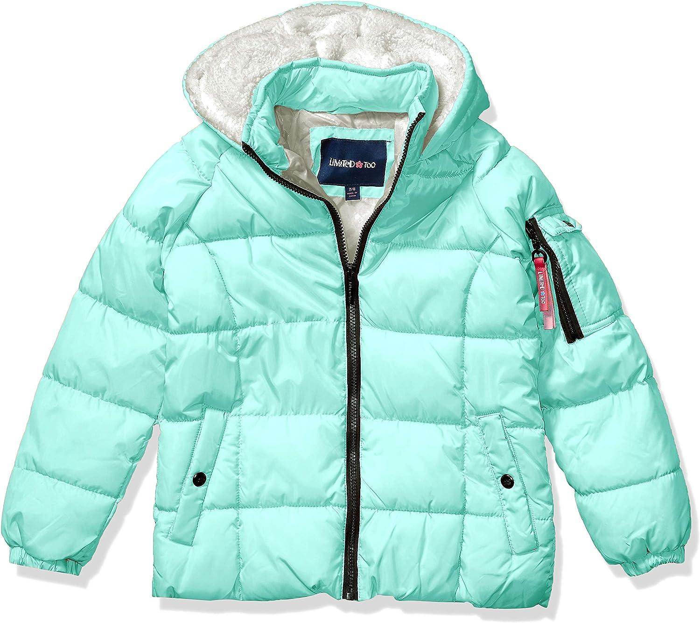 Limited Too Girls' Toddler Puffer W/Sherpa Fleece