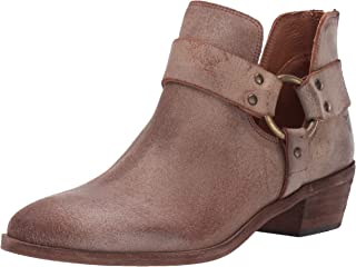 FRYE Women's Ray Harness Back Zip Ankle Boot
