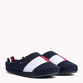 TOMMY HILFIGER Men's Colour-Blocked Cotton Slippers Sneakers