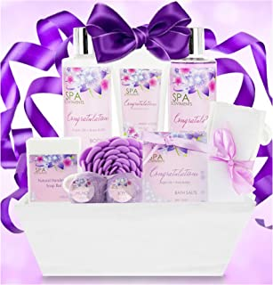 Congratulations Gifts for Women Gift Spa Gift Basket - Gifts for Graduation, Baby Shower, New Home, New Job. Celebrate Every Milestone with Congratulations Gift Baskets for Women!