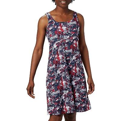 Columbia Freezertm III Dress (Collegiate Navy Waterbrush) Women