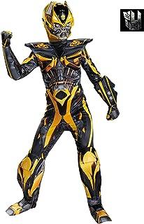 Disguise Hasbro Transformers Age of Extinction Movie Bumblebee Prestige Boys Costume, Medium/7-8