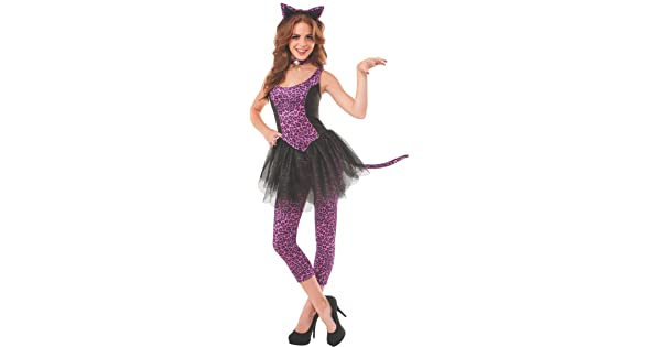 Rubies Halloween Costumes 2020 Tmn Rubie's Women's Leopard Kitty Adult Costume, Multi, Small: Buy