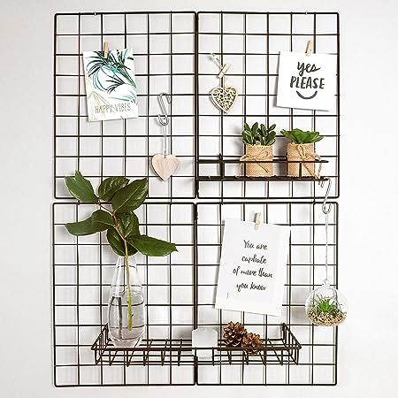 Vide Fleur Mur Panneau Cadre-À faire soi-même Fleur Mur Grille Maille super facile
