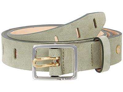 rag & bone Sidekick Belt (Sage Suede) Women