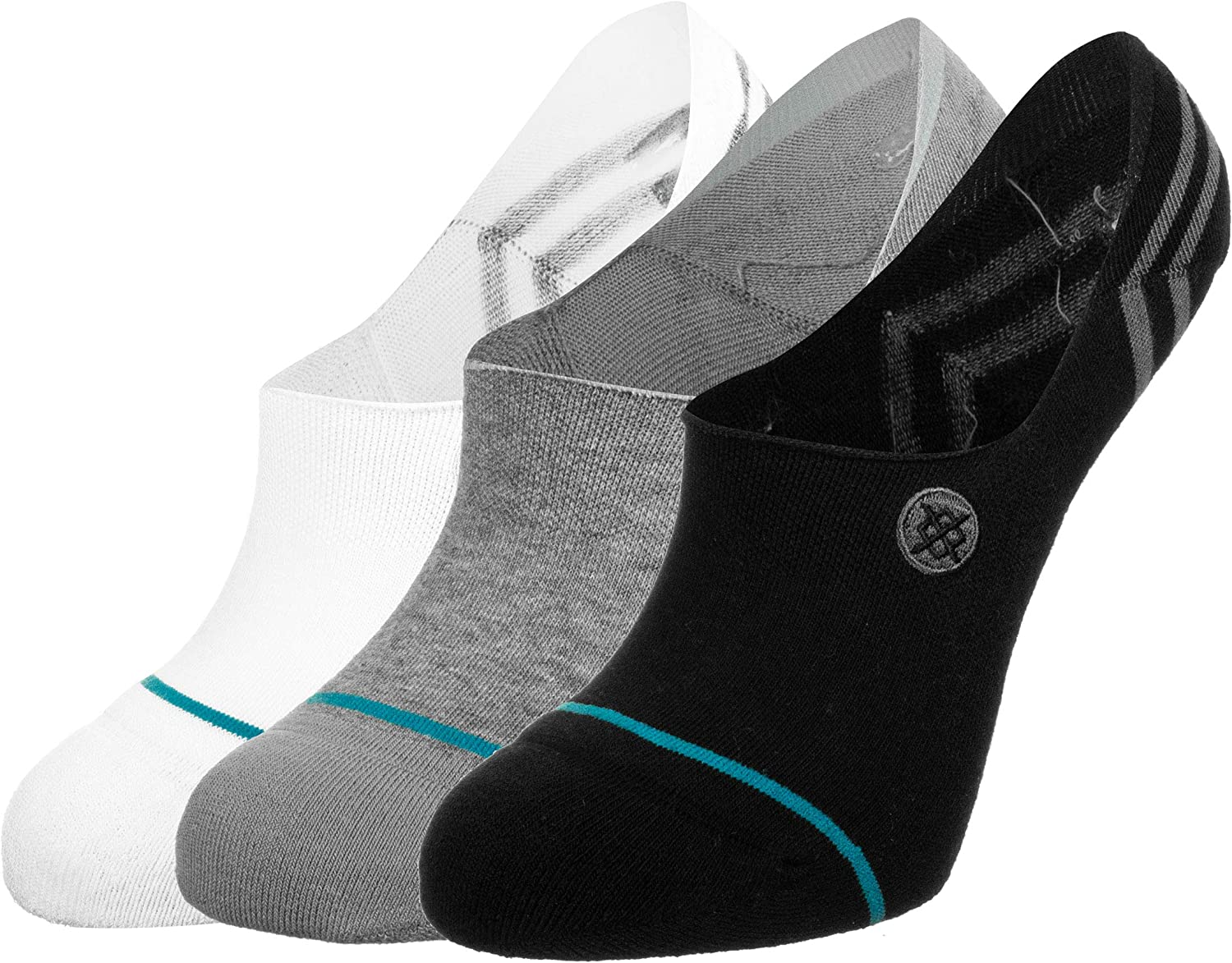Stance Mens and Ladies Gamut 2 Cotton Socks Pack of 3 Multi