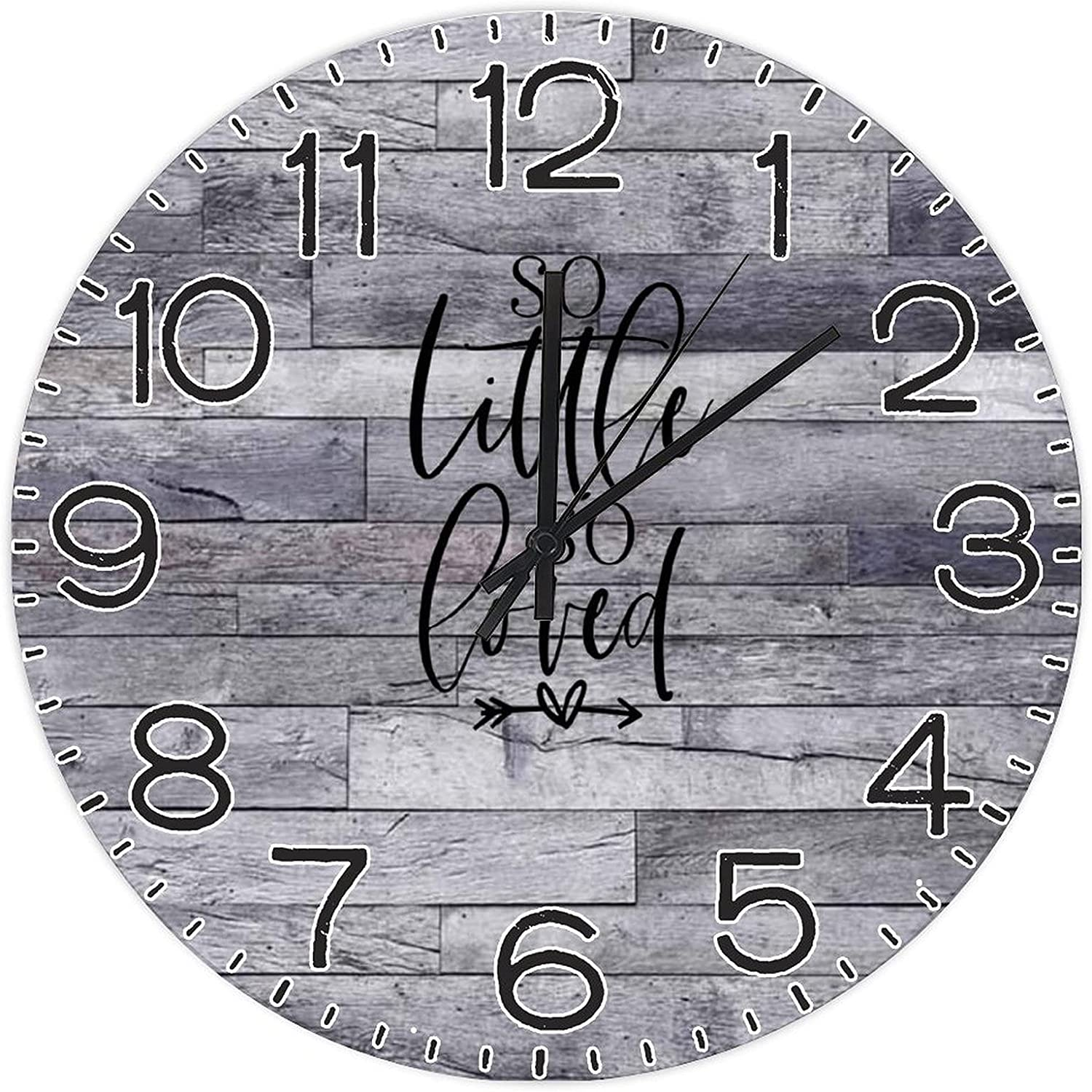 by Unbranded New York Mall Decorative Wall Clock Little Girl 5 popular Baby So Loved