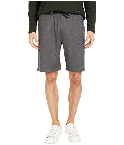 Threads 4 Thought Feather Fleece Drawstring Shorts (Heather Charcoal) Men