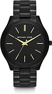 Michael Kors Women's Slim Runway Three-Hand Stainless Steel Quartz Watch