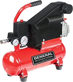 General Intl. Power Products AC1106 Portable Hotdog Oil-Lubricated Air Compressor, 3.1 CFM