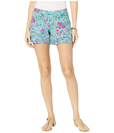 Lilly Pulitzer Ocean View Shorts (Bali Blue Sway This Way Swim) Women
