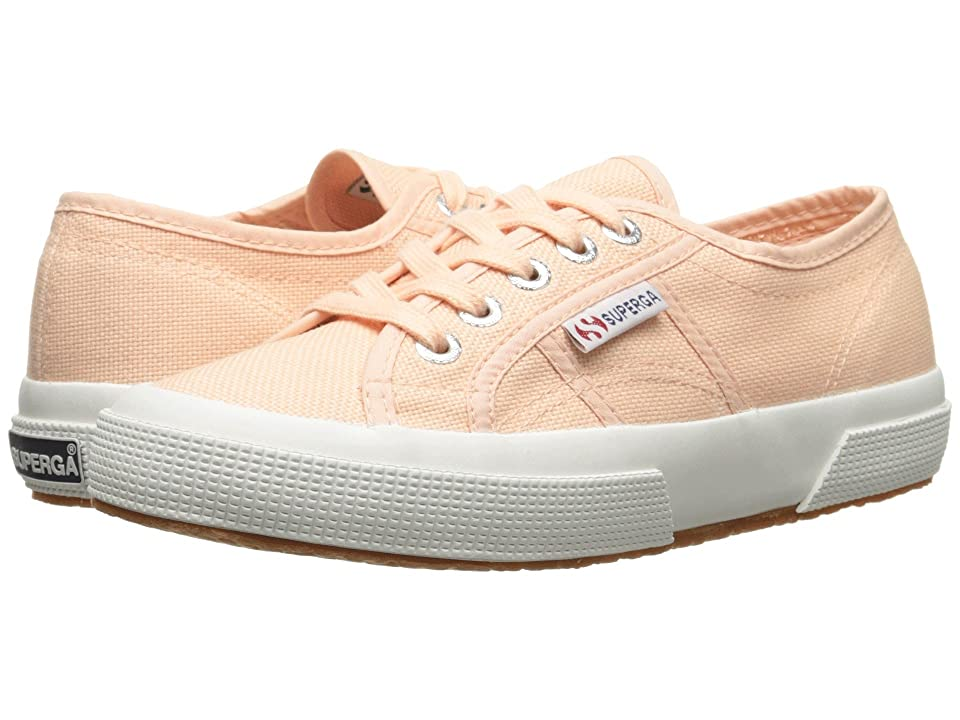 Superga 2750 COTU Classic Sneaker (Pink Peach) Lace up casual Shoes