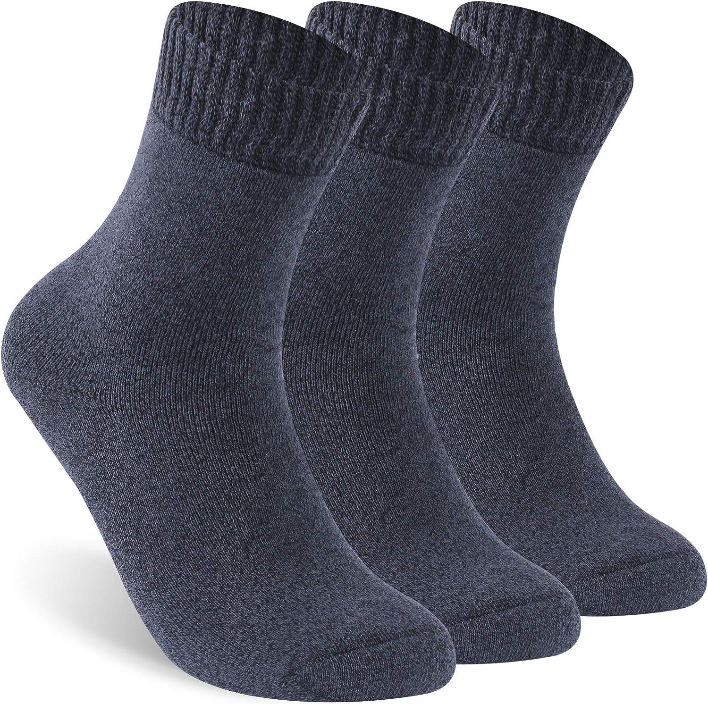 Facool favorite Diabetic Socks for Men Easy-to-use Warm Thick Women Cotton Non-Bindi