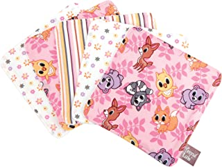 Trend Lab 5 Coun Wash Cloth Set, Lola Fox