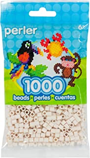 Perler Beads Fuse Beads for Crafts, 1000pcs, Toasted Marshmallow White