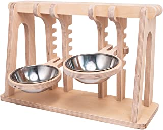 pet bowl with stand