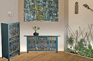 Muebles Chinos combinación oceanflowers Shabby Chic Vintage cómoda aparador gabinete Armario mesilla de Noche