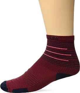 PEARL IZUMI Elite Sock, Port/Midnight Navy Tidal, Large