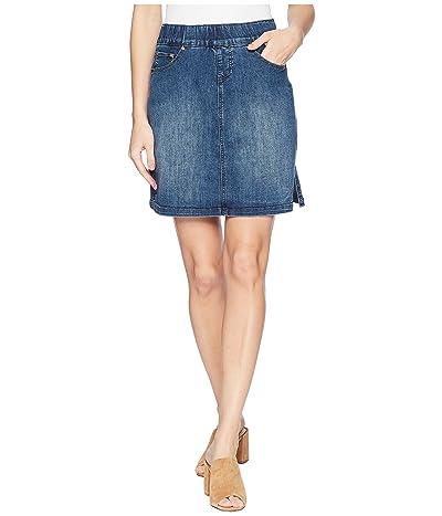 Jag Jeans On The Go Denim Skort (Blue Dive) Women