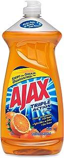 Dishwashing Detergent, 28 oz., Orange, PK9