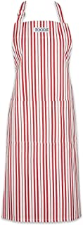 DII Cotton Adjustable Gourmet Stripe Chef Apron with Pocket and Extra Long Ties, 36 xd 26.5