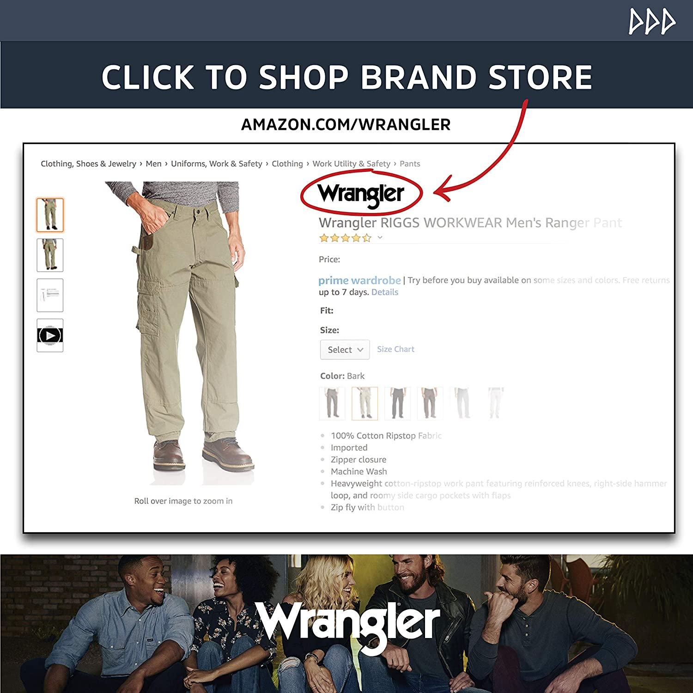 Wrangler Riggs Workwear Men's Short Sleeve Henley at  Men's Clothing store