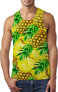 58f09eb3a3d9a Alistyle Mens Summer Sleeveless 3D Print Tank Tops Casual Workout Graphic  Holiday Vest Shirts