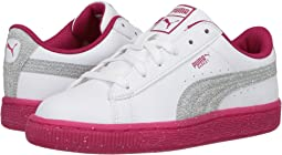 Puma Kids - Basket Iced Glitter 2 (Little Kid/Big Kid)