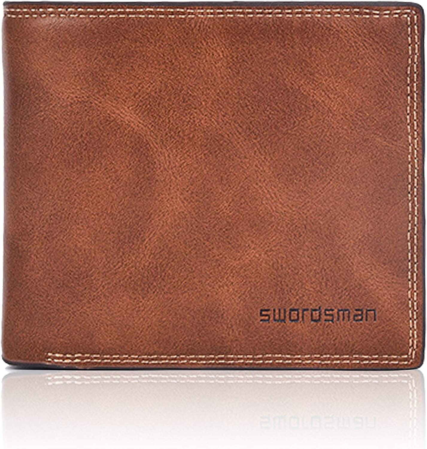 Tounuta Minimalist Wallet Leather For Men Fold Wallet Credit Card Holder Wallet Package Travel Wallet (Black) : Clothing, Shoes & Jewelry