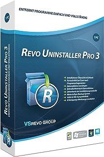 Revo Uninstaller 3 PC 1-Platz-Version [Importación alemana]