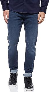 بنطلون جينز للرجال CKJ 058 من Calvin Klein Denim ، أزرق (Ba042 أزرق رمادي 1BZ)، المقاس: L32/W32