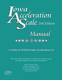 Iowa Acceleration Scale Manual 3rd Edition