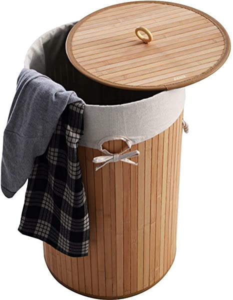 SABADIVA Laundry Hamper Laundry Baskets Clothes Hamper Bamboo Hamper Laundry Hamper With Lid Wicker Hamper Hampers For Laundry