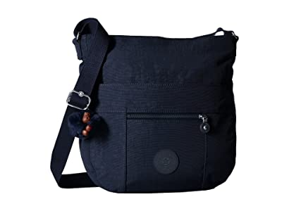 Kipling Bailey Saddle Bag Handbag (True Blue) Handbags