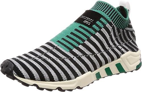 Adidas - EQT Support SK PK - B37522 - - Couleur  Noir-gris-Vert - Pointure  41.3  vente avec grande remise
